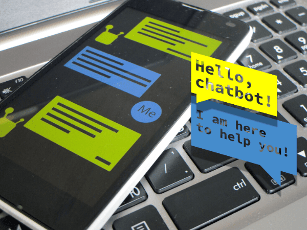 Chatbot interface picture