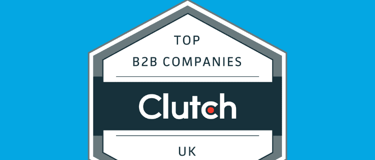 The Bot Forge Named Industry Leader in the UK - Clutch logo