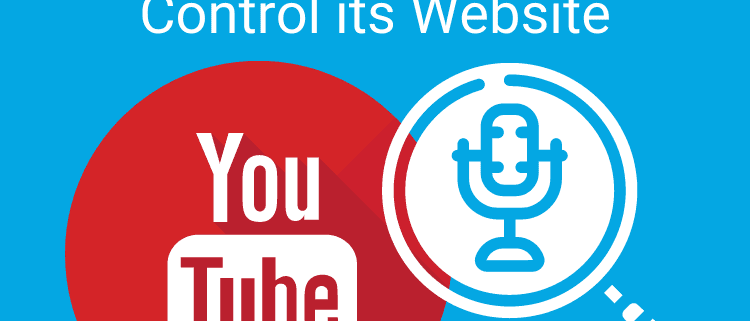 YouTube Adds Voice Search and Commands to Control its Website